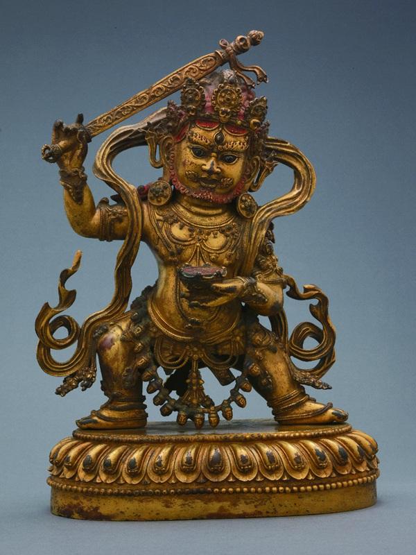 永乐金铜佛像与汉藏文化交融