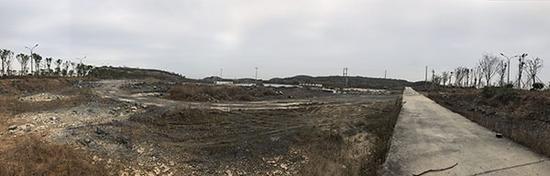 乐视超级汽车生态体验园区计划用地。