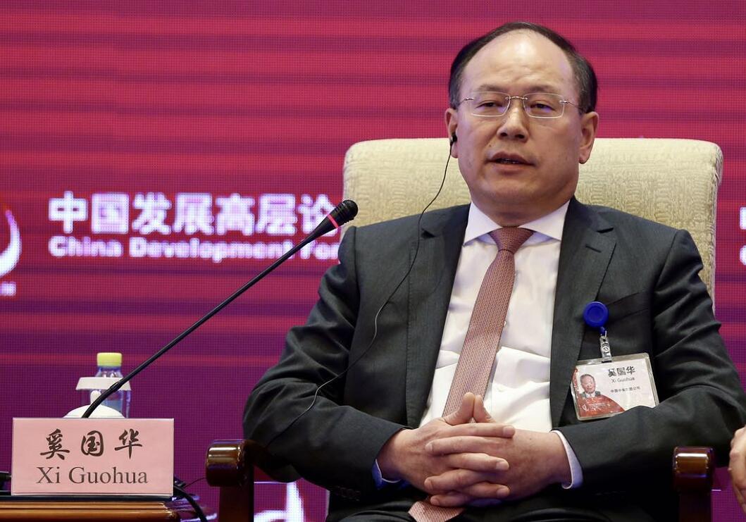中国中车集团公司总经理奚国华 中证网摄影记者/车亮