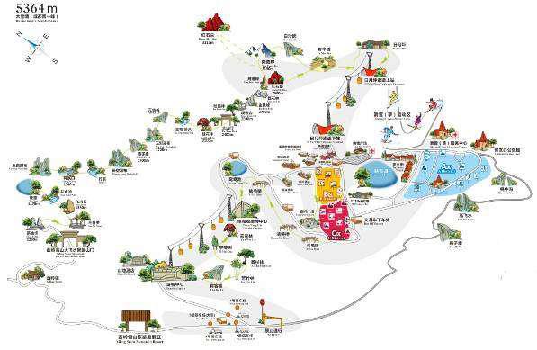 西岭雪山游览线路图-公司的主营业务情况