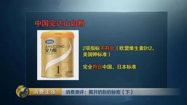 中国奶粉规范不迷信靠边?央视:是最严峻规范之壹