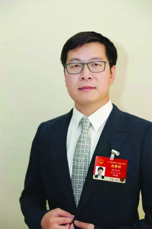 全国人大代表、58同城CEO姚劲波
