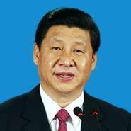 習近平:中央委員會總書記,中華人民共和國副主席,中央軍事委員會主席,中央政治局常委